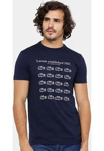 Camiseta Lacoste Regular Fit 1927 Masculina - Masculino