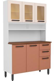 Cozinha Compacta Origens 6 Pt 2 Gv Terracota