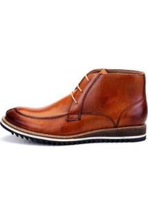 Bota The Box Project Huon Masculina - Masculino-Caramelo