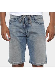 Bermuda Jeans Hd Ly - Masculina - Masculino-Azul
