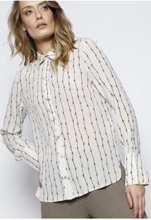 Camisa Com Bolso feminina  0353defa56340