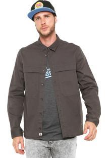 Camisa Sarja Element Greater Cinza