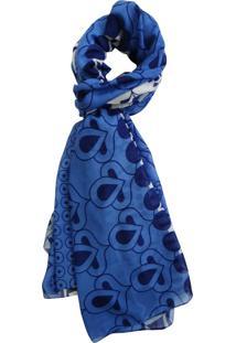 Echarpe Zohar Nany Azul