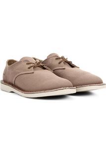 Sapato Casual Kildare Em Lona Masculino - Masculino-Bege