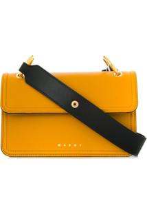 Marni New Beat Cross Body Bag - Amarelo
