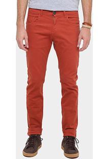 Calça Sarja Skinny Rockblue Color Masculina - Masculino
