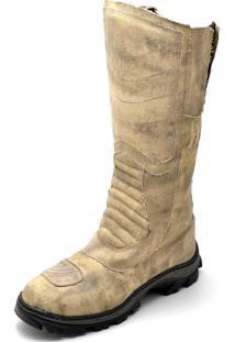 Bota Top Franca Shoes Bege
