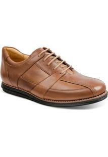 Sapato Social Masculino Conforto Sandro Moscoloni Land Marrom Claro