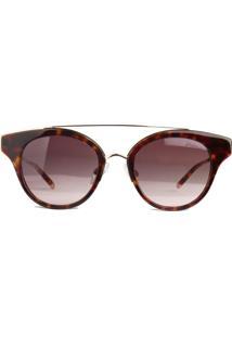 Óculos De Sol Hickmann Hi9019 G21/47 Dourado