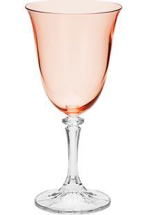 Taça Para Água De Cristal 360Ml Kleopatra Branta - Bohemia - Rosê