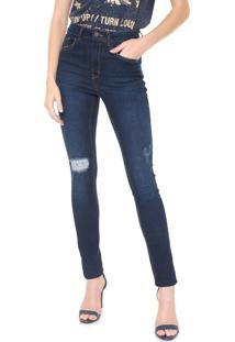 Calça Jeans John John Skinny Quetta Azul