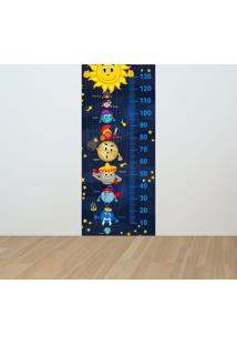 Adesivo Régua De Crescimento Sistema Solar (0,60M X 1,40M)