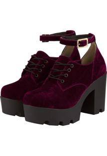 Sapato Barth Shoes Mali Bordô