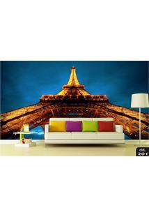 Papel De Parede 3D Torre Eiffel, Cidades, Montanhas, Florestas, Cachoeiras, Paisagens Adesivo Decorativo Painel Fotográfico - Confeccionamos Sob Medid