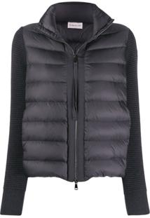 Moncler Maglia Down Jacket - Cinza