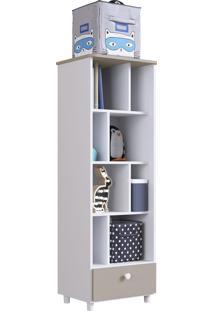 Módulo Organizador C/ Gaveta Children'S House Branco Artinmóveis - Tricae