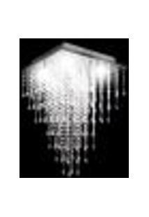 Lustre De Acrílico Pirâmide Sintra Para 5 Lâmpadas Dicroicas Soquete Gu10 - Sintra-38