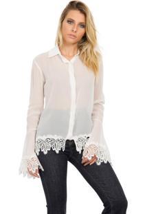 Camisa Due Tre Madison Off-White