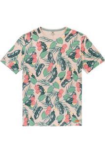 Camiseta Slim Masculina Em Algodão