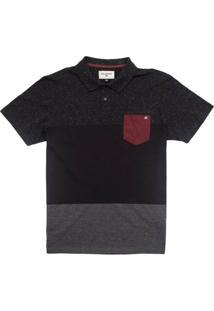 Camisa Polo Billabong Color Shades - Masculino