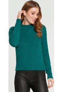 Blusao Trico Verde