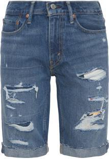 Bermuda Jeans Masculina 511 Slim Cut Off - Azul