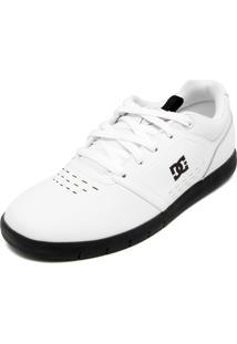 Tênis Couro Dc Shoes Thesis Branco/Preto