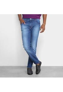 Calça Jeans Skinny Triton Masculina - Masculino-Jeans