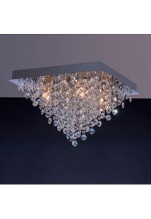 Luminária De Sobrepor 4,5W G9 Espelhado Pen4Lzsq Bronzearte