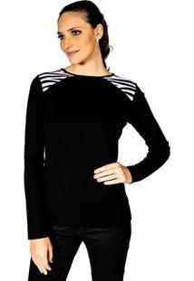Blusa Tricot Zebra Lafort