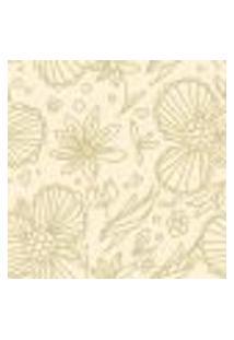 Papel De Parede Autocolante Rolo 0,58 X 3M - Floral 1249