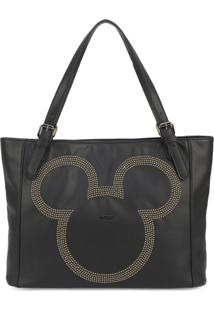 Bolsa Luxcel Mickey Mouse Preta