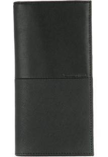 Cerruti 1881 Carteira De Couro Com Textura - Preto