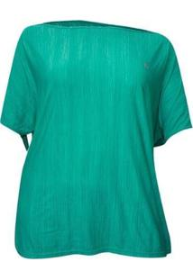Camiseta Plus Size Way Extreme - Feminino-Verde