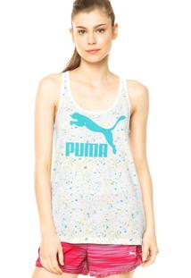 Regata Puma Tank Feminino Branca