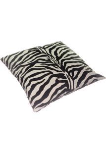 Capa Para Almofada Dona Cereja Estampa Zebra