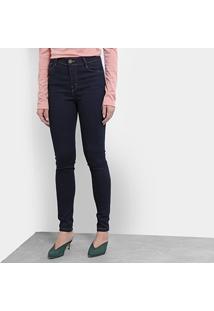 Calça Jeans Skinny Jezzian Jeans Feminina - Feminino-Azul