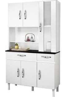 Cozinha Compacta Sampaio 6 Pt E 2 Gv Branco