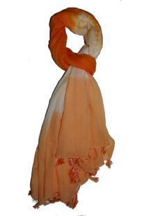 Echarpe Reversível Zohar Orange