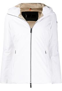 Rrd Hooded Down Jacket - Branco