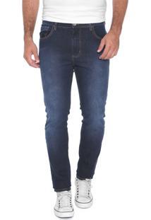 Calça Jeans Sommer Reta Alan Azul