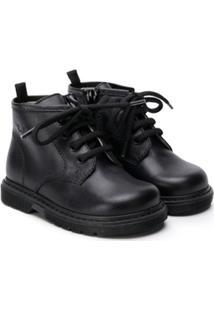 Il Gufo Lace-Up Ankle Boots - Preto