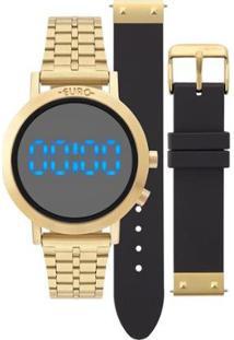 Relógio Euro Feminino Fashion Fit Dourado - Eubj3407Aa/T4P Eubj3407Aa/T4P - Feminino-Dourado