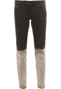 Faith Connexion Calça Jeans Tie-Dye - Preto