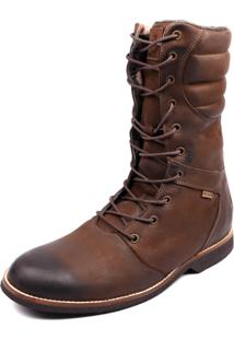 Bota Coturno Shoes Grand Europa Taupe