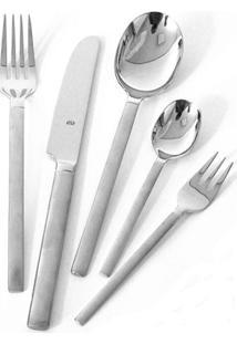 Faqueiro De Aço Inox Carrara Bsf 30 Peças - 24346