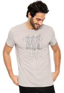 Camiseta Richards Silk Cinza
