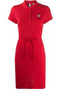 Rossignol Vestido Polo - Vermelho