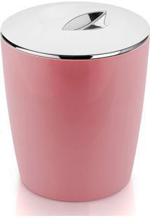 Lixeira De Polipropileno New Belly Ou Rosa 5L - 27105