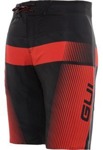 Boardshort Gul Belt Fusion Vermelho